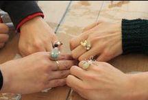 2/22 「ワイヤーリングを作ろう」ワークショップ / 2/22にビズー自由が丘店にて、「ワイヤーリング」をつくるワークショップを開催しました。http://www.bizoux.jp/