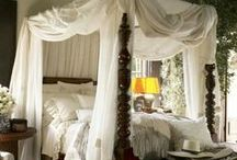 British Colonial Bedrooms / Serene British Colonial Bedroom Decor / by British Colonial Design