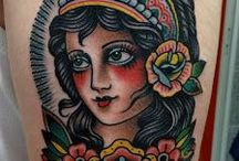 Traditional / Old school Tattooing / These are all good examples of work in this style of tattooing. They are just references for inspiration and not a representation of our own work. Just cool tats! Enjoy