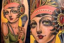 Neo Trad Tattooing / These are all good examples of work in this style of tattooing. They are just references for inspiration and not a representation of our own work. Just cool tats! Enjoy