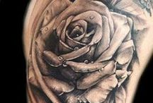 Roses and Flowers Tattoos / These are all good examples of work in this style of tattooing. They are just references for inspiration and not a representation of our own work. Just cool tats! Enjoy