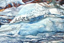 Textile Art / Mijn toekomst ligt deels hier. Deze kunstenaars inspireren mij enorm.