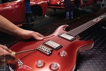 Corvette Guitars / Corvette Gibson Guitars made at the by Gibson's Custom Shop and PRS, Paul Reed Smith Corvette Guitars