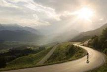 cycling / riding bikes