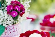Decoração Flores / by O Mundo cabe na minha bolsa - AleAna