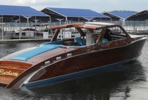 Allure of Classic Wooden Power Boats / by Jay Farnsworth-Greve