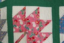 Sewing quilts / by Laura