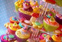 "Cupcakes, Lollipops, Truffles & Squares / The fanciest party ready treats can be added here.  Feel free to add cookies and muffins to this board as well.  Please keep it clean - this is for kids too!  Great desserts for everyone :)  You can email me at KindredSpiritsTwo@gmail.com or click on the ""Add Me"" pin to be added to the board :)"