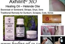 Axhilirit HO Skin Enhancing Healing Oil and Ointment / Axhilirit© Oil enhances the body's ability to heal. Open Wounds, Blisters, SUNBURN, Burns, Scalds, Chilblains, Insect Bites, Skin and Mouth Ulcers, Athlete's Foot, Sinus Problems, Sprains, Arthritic and Joint Aches, Warts. Safe to use on dogs and horses.