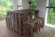 DIY - furniture of recycled materials