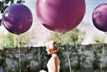 Globos en las bodas