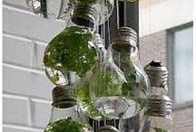Old jars/bottles/light bulbs etc / Wow cool
