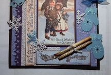 Christmascards / DIY card  - made by me, Hanne