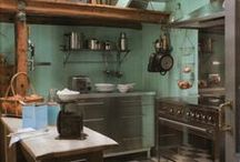maudjesstyling country kitchens / keukens