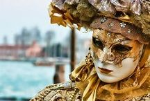 Venice Carnival / Let's have a walk through Venice masquerade and then plunge in the hot thermal springs of Thermae Abano Montegrotto   #holidays #venice #carnival #trip #thermae #hotsprings #relax #masks