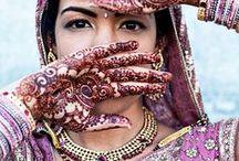 przepiękne kolorowe india