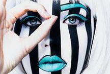 avant-garde makeup ;)