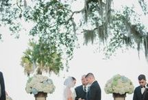 Cassandra Register and Matt Fraham wedding / Cassandra and Matt's romantic wedding was captured beautifully by Stephanie W. Photography at the historic Club Continental.  We loved creating the floral decor for this special couple.