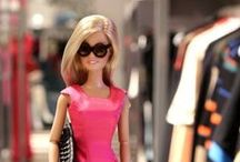 Barbie / Past & present. Where I indulge my childhood #Barbie fascination... without needing storage.