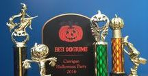 Halloween Trophies / Get in the mood for the season with these spooky Halloween trophies!