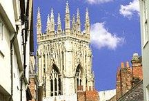 York and Surrounding Area / York is a wonderful place to live and visit!! Our shop is located on Minster Gates a very historically interesting part of York right next to the Minster. Rue B Jewellery shop, York