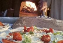 PJ taste wood fired pizza / Pizzas to order for this evenings wedding buffet