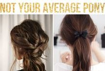 Hair / Find hairstyle ideas, hair care tips, hair inspiration, and more by following this board!