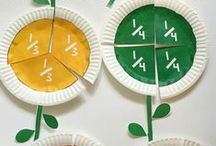 Fractions / Ideas and Inspiration for working with fractions and teaching math and fractions to kids!