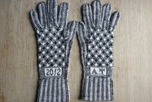 My gloves / These are gloves I've knitted