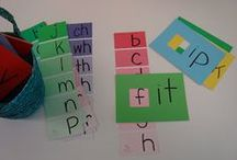 Word Families / Ideas and Inspiration for teaching reading and writing with word families.
