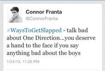 """Connor """"Frantastic"""" Franta / Connor Franta. It's simple, right up there --^"""