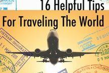 Suggerimenti per il viaggio! / Piccoli suggerimenti per organizzare i vostri viaggi