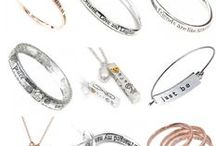 """Rue B Quote Jewellery / Quote Jewellery UK: Here you can find a selection of our best selling quote jewellery. e.g """"we've been mother and daughter from the start and the friendship we share is a gift from the heart."""" """"Sisters share a special bond...that last a lifetime.."""" """"Good friends are like angels, you don't have to see them to know they are there"""""""