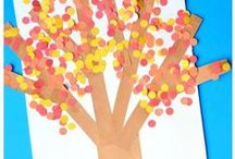 Fall Activities / Ideas and Inspiration for Fall Activities to do with 3-7 year olds. Find fun Fall crafts and more!  www.http://thekindergartenconnection.com/
