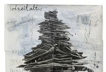Anselm Kiefer / The art of French artist Anselm Kiefer