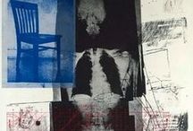 Robert Rauschenberg / The art of 20th century artist Robert Rauschenberg