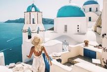 Greece Wanderlust / Greece Travel Inspiration
