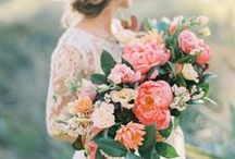 Weddings // Bouquets / The wedding bouquet should reflect the Bride's personality, and perfectly compliment her dress.