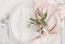 Weddings // Place Settings