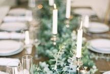 Weddings // table runners
