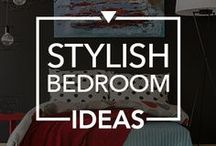 Stylish Bedroom Ideas / Looking for new ways to perk up your bedroom? Here are some stylish bedroom inspirations to get you started.