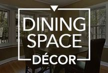 Dining Space Décor / Take a cue from these #beautiful #dining #spaces and notch up your  #dining #decor.