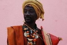Ethnic fashion, MEN / Each tribe has their own fashion.