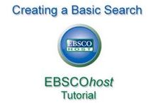 DATABASE TRAINING / Use these tutorials or videos to learn how to effectively use our library databases. Databases provide access to journal articles that are useful for assignments and research.   / by CSUDH UNIVERSITY LIBRARY