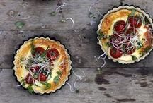 Savory Tarts,Quiches and Pies