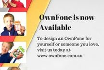 OwnFone Examples / Personalised designs for the OwnFone. Both easy-to-use for your little one or the young-at-heart looking for simple mobile phone technology - stay connected with the ones you love.