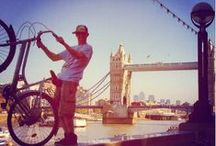 Lovely London / The best stops during our bike tours in London