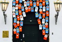 DOORS & WINDOWS / Beautiful doors and windows. Colourful, photogenic and inviting.