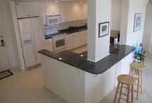 Large 1BD W/ UPGRADES GALORE!!! On Atlantic City's Beach! / Completely renovated w/ extended kitchen, granite counter tops, breakfast bar, high hats throughout, ceramic tile floors in kitchen, foyer & closet area. Ceiling fans in bedroom & living area, dimmers on all light switches. Archway opening into dinning area with built-in bar. Baths are redone & have tile floors, full has a large stall shower w/class doors. Full size washer & dryer. Ceramic tile on deck. Fabulous open views of the BEACH, OCEAN & BAY. READY TO MOVE IN! Asking - $324,000