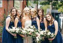 Real Bridesmaids / Chic bridesmaids inspiration for your wedding party.